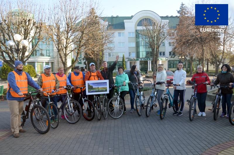 Велодорожка в Кобрине